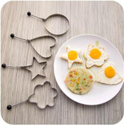 FFJTS Thick Stainless Steel Fried Egg Omelette Mould