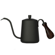 ZHAOJING Hand-brewed Coffee Pot Long Mouth Small Mouth Household Drip Stainless Steel Coffee Appliances 600ml