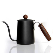 ZHAOJING Hand Punch Coffee Pot Small Mouth Drip Long Mouth Stainless Steel Coffee Pot 600ml