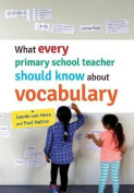 What Every Primary School Teacher Should Know about Vocabulary