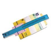 General Sorter, A-Z/1-31/1000-1,000,000 Index, Letter Size, Plastic, Blue, Sold as 1 Each