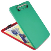 SlimMate Show2Know Safety Organiser, 1.3cm Clip Cap, 9 x 11 3/4 Sheets, Red/Green, Sold as 1 Each