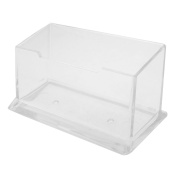 Counter Top VIP Business Card Holder Display Stand Rack Clear
