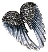 Loveangel Jewellery Women's Crystal Angel Wings Pin Brooches Pendants