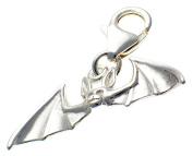 Welded Bliss Sterling 925 Silver Bat Clip Pendant Charm WBC1516