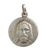 "925 Sterling Silver "" The Holy Face of Christ ""Medal"
