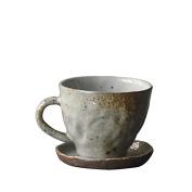 HAN-NMC Coffee Cup Dish Ceramic Mug Cup