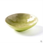 LGK & FA Ceramic Salad Bowl Home Dish Bowl Plate Bowl Plate Deep Bowl Tableware A