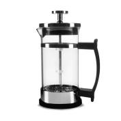 ZHAOJING Coffee Pot Law Pressure Pot Stainless Steel Tea Pressure Filter Pot Coffee Filter Hand Pot Glass Bubble Flower Teapot