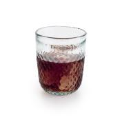 Black Velvet Studio Tumbler glass Niza Turquoise colour Nordic style Glass 11x9x9 cm