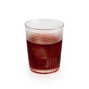 Black Velvet Studio Tumbler glass Niza Trasnparente colour Nordic style Glass 10x8x8 cm