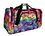 Ladies LINED Holdall Gym Traval Beach Pool Flight Maternity Bag