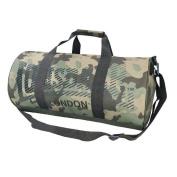 Barrel Bag Army Camouflage Duffel Gym Training Outdoors Camping Gear Equipment Size W52 x H26 x D26cm