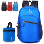 Backpack Lightweight Travel Hiking Small Daypack Foldable Durable Packable Rucksack Men Women - 18L