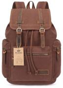 Canvas Backpack Vintage Rucksack Unisex Causal Daypacks Bag