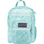 JanSport Big Student Backpack - aqua dash jagge