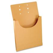 Esselte J044 Retention Jacket F/Letter/Legal 1.9cm Expansion 100/BX Kraft