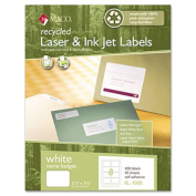 Maco Recycled Laser/Inkjet Name Badge Labels