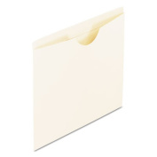 Reinforced Top Tab File Jackets, Flat, Letter, Manila, 100/Box