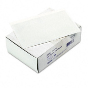 Self-Adhesive Vinyl Pockets, 4 x 6, Clear Front/White Backing, 100/Box