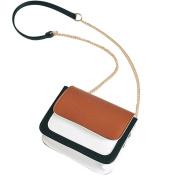 Womens Shoulder Bags, SHOBDW Girls Fashion Patchwork Chains Hasp Mini Chain Crossbody Messenger Phone Party Handbag