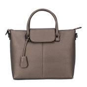 Women's PU Handbag Simple Trendy Casual Bag Shoulder Bag