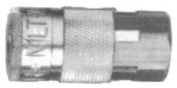 0.6cm NPT Female Tru-Flate/Parker T Style Coupler