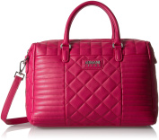 ARMANI JEANS womens Faux Quilted Boston Bag