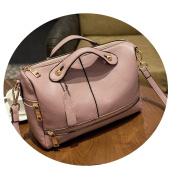 OURBAG Womens Top Handle Satchel Handbags Tote Designer Purse Pink