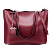 Abuyall Women Handbags Tote Shoulder Bags for Large PU Top Handle Satchel Messenger Bag