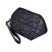 Espeedy Women Mini Clutch Bags Leather Smartphone Zipper Wallet Organiser with Credit Card Holder/Cash pocket/Wristlet PVC Handbag Shell Shape Purse Ladies Girls Shoulder Bag Gifts