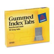 Avery Gummed Index Tabs, 1.1cm x 3cm , 50 Tabs