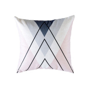 Little Finger Linen Cushion Covers Pillow Cases for Sofa Car Chair Office Bedroom Home Decor size One size
