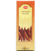 Hem Hex - Cinnamon - 20 Stick Hex Tubes