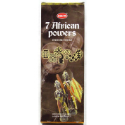 Hem Hex - 7 African Powers - 20 Stick Hex Tubes