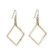 Annaleece 4910 Boldly Square Pierced Earrings