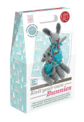 The Crafty Kit Company Knitting Kit Knit your own Bunnies