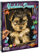 Schipper 609240720 Yorkshire Puppy Paint By Numbers Board