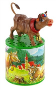 Traditional moo box or cow box for hearing the mooing of a cow