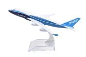 TANG DYNASTY(TM) 1:400 16cm Boeing B747-400 Original Metal Aeroplane Model Plane Toy Plane Model