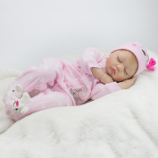 Kaydora Reborn Baby Dolls 60cm Sleeping Soft Slicone Lifelike Real Baby Reborn Dolls Newborn Babies Play House Toys