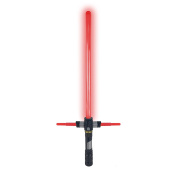 MINTOYS® DELUXE RED Star LED Light Sabre Lightsaber Light-up Sound Space Wars Laser