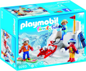 Playmobil 9283 Family Fun - Snowball Fight
