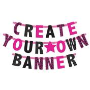 Amscan 120184 Customisable Letter Banner