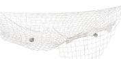 Boland 44351 - Fishing Net Decorative, 300 x 300 cm , white