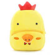 Cute Small Toddler Kids Backpack Plush Animal Cartoon Mini Children Bag for Baby Girl Boy Age . - Chick