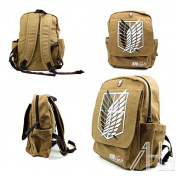 Shingeki No Kyojin School Canvas Bag Attack on Titan Cosplay Backpack Rucksack