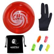 Yoyos for Kids - - Original MAGICYOYO D1 GHZ Plastic Loop 2A Yoyo Ball + 5x Strings+Glove+Yoyo Pouch Good Gift for Children