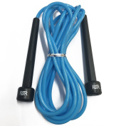 FXR Sports Adjustable 3m/10ft Professional Skipping Skip Speed Rope For Fitness Boxing MMA Training Gym - 4 Different Colours