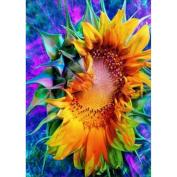 KAYI 5D Diamond Painting Blooming Sunflowers Full-drilled Rhinestone Hand Craft Painting Home Decor